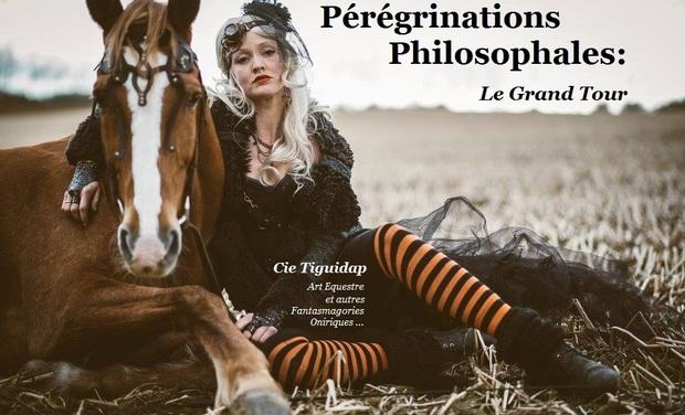 Visuel du projet Pérégrinations Philosophales : Spectacle itinérant, alternatif et utopiste