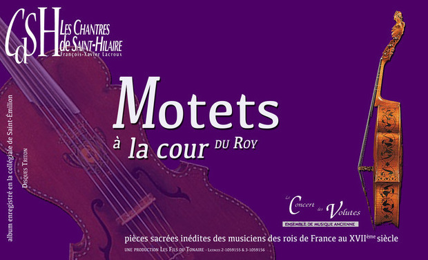 Visueel van project Motets à la cour du Roy