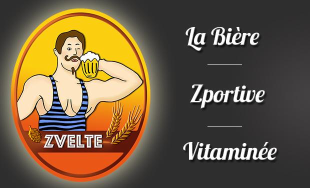 Visuel du projet Zvelte, bière vitaminée !