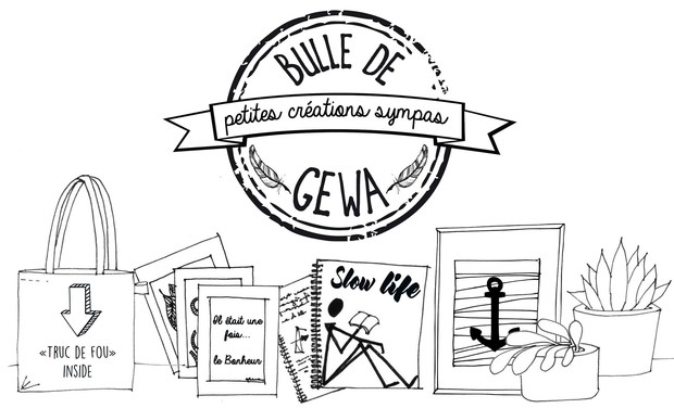 Visuel du projet Bulle de Gewa, petites créations sympas