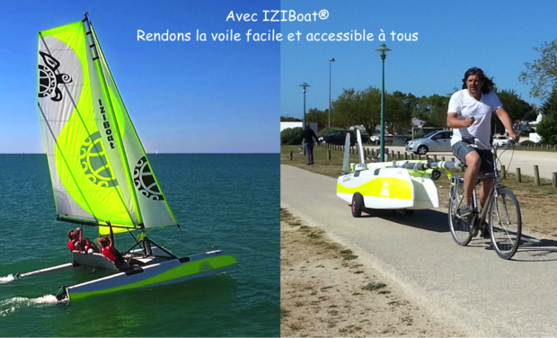 Project visual IZIBoat® : La voile facile