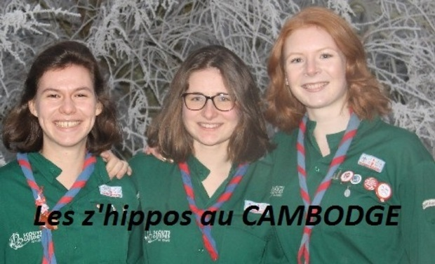 Visueel van project Les z'hippos au Cambodge