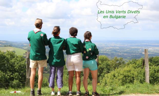 Project visual Les Unis Verts Divers en Bulgarie-Projet solidaire auprès de jeunes par des jeunes