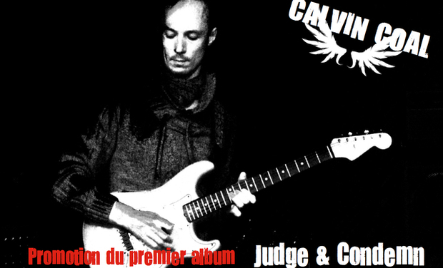 Project visual Calvin COAL - Promo du premier album