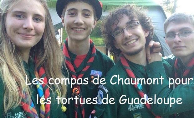 Visueel van project Les compas de Chaumont pour les tortues marines de Guadeloupe