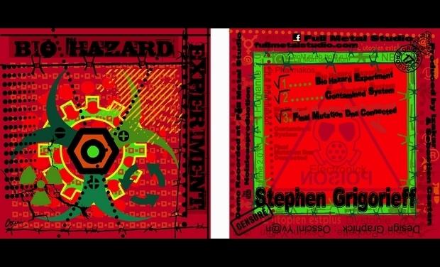 Visuel du projet Bio Hazard Experiment Stephen Grigorieff