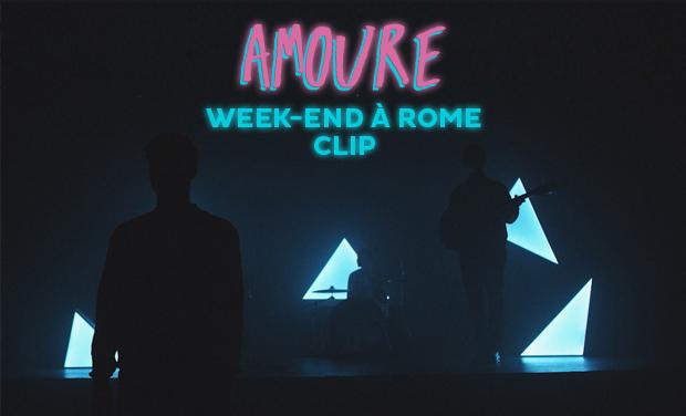 "Visueel van project AMOURE - CLIP ""WEEK-END A ROME"""