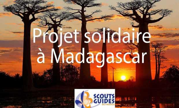 Visuel du projet Un été pour les enfants de Madagascar