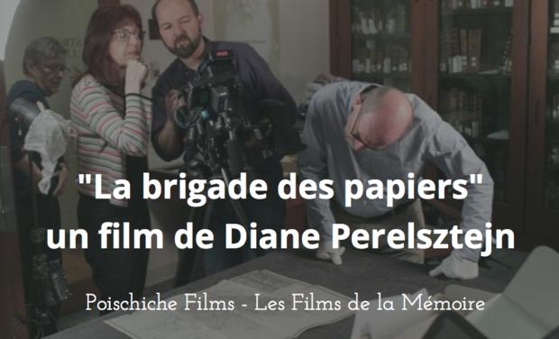 Visuel du projet La brigade des papiers