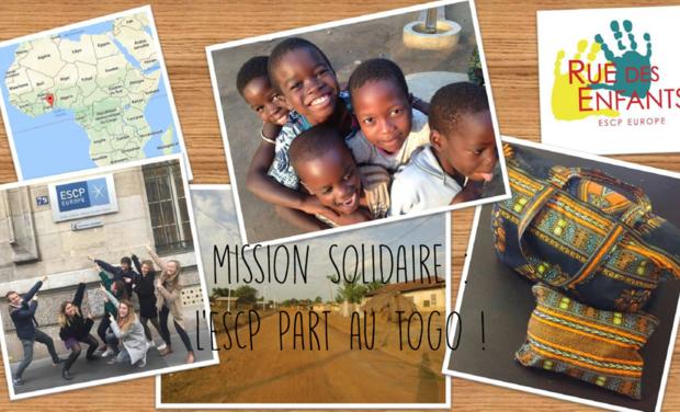 Visuel du projet Mission solidaire : l'ESCP part au Togo
