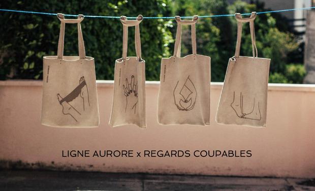 Visuel du projet Ligne Aurore x Regards Coupables - sac en cuir - édition limitée