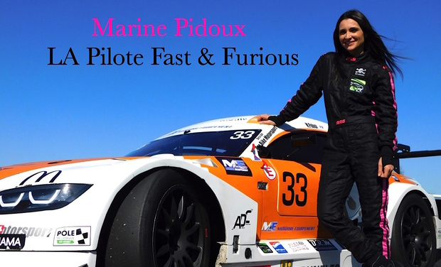 Project visual Marine Pidoux La pilote Fast and Furious