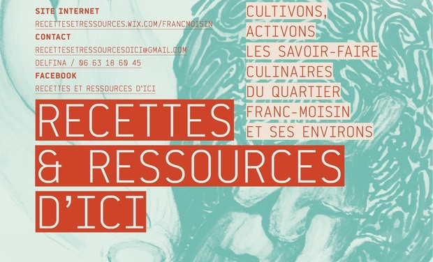 Visuel du projet Recettes & Ressources d'ici