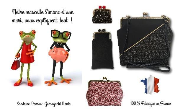 Visuel du projet Sandrine Darras Gamaguchi Mania. Les accessoires rétro !