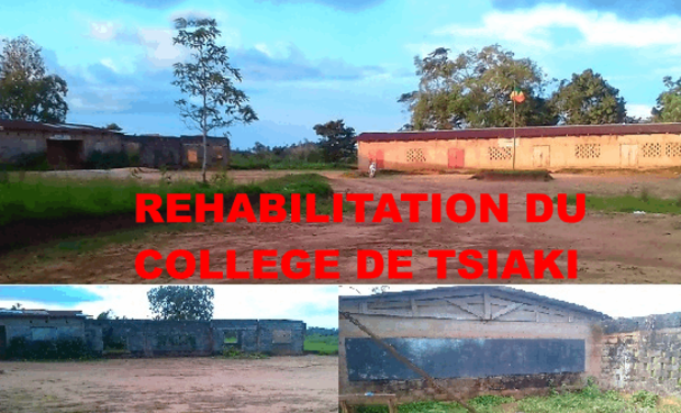 Project visual REHABILITATION  DU COLLEGE  DE TSIAKI.