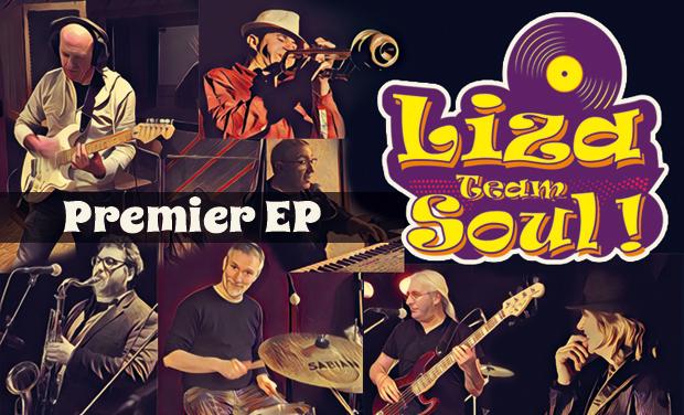 Visuel du projet Liza Team Soul ! 1er EP