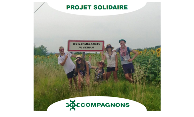 Visueel van project Les In-compas-rables au Vietnam
