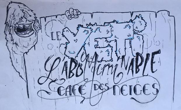 Visuel du projet Le Yéti: un café culturel dans le Haut-Couserans