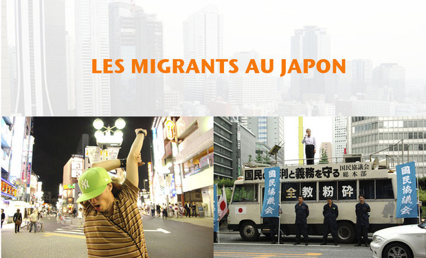 Project visual Les migrants  au Japon