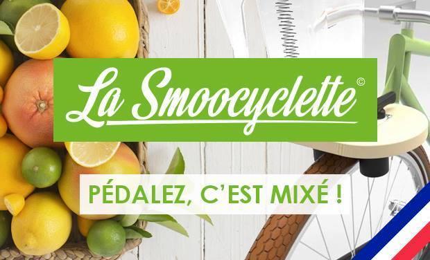 Visuel du projet La Smoocyclette - Le vélo à smoothie français, fabriqué au Pays Basque