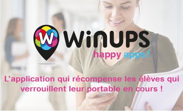 Visuel du projet Winups, verrouille ton portable et gagne des offres exclusives !