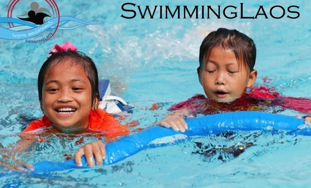 Swimming Laos
