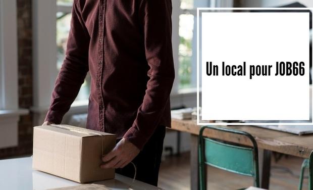 Visuel du projet Un local pour JOB66