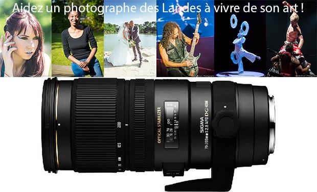 Project visual Aidez un photographe des Landes à vivre de son art !