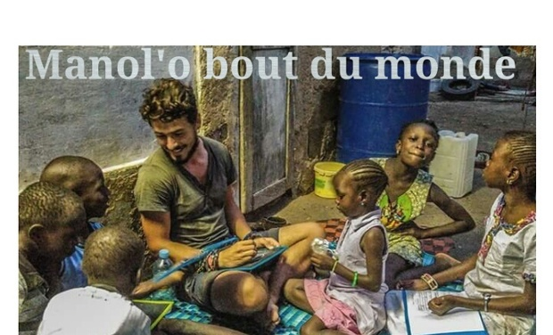 Visueel van project MANOL'O BDM backpack solidaire