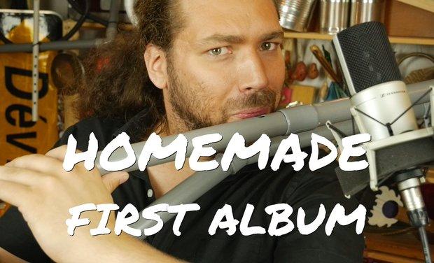 Visuel du projet Homemade Instruments - Nicolas Bras, 1st album!