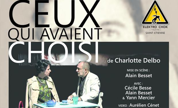 """Project visual """"Ceux qui avaient choisi"""" au Festival Off d'Avignon 2017"""