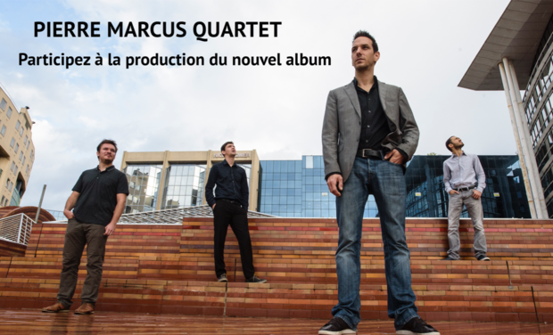 Project visual Pierre Marcus - Nouvel album