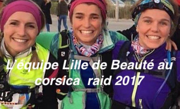 Visuel du projet L'équipe « Lille de beauté » au Corsica Raid 2017.