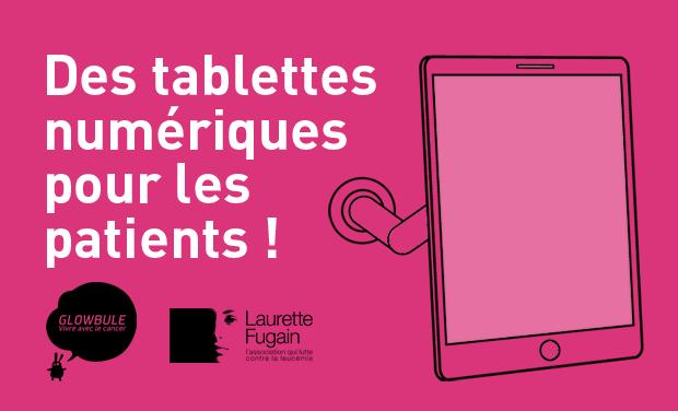 Visuel du projet Des tablettes numériques pour les patients !