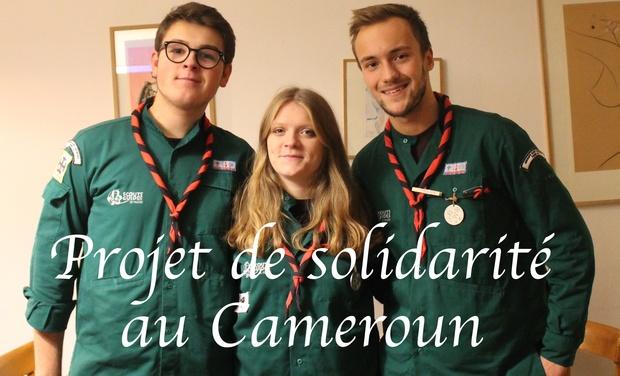 Visuel du projet Projet de solidarité scout au Cameroun 2017