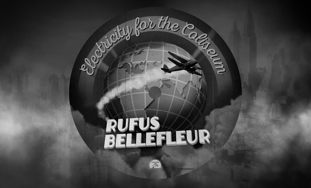 Visueel van project Rufus Bellefleur 3ème Album