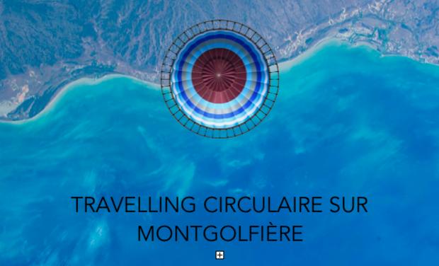 Visuel du projet Travelling circulaire sur montgolfière