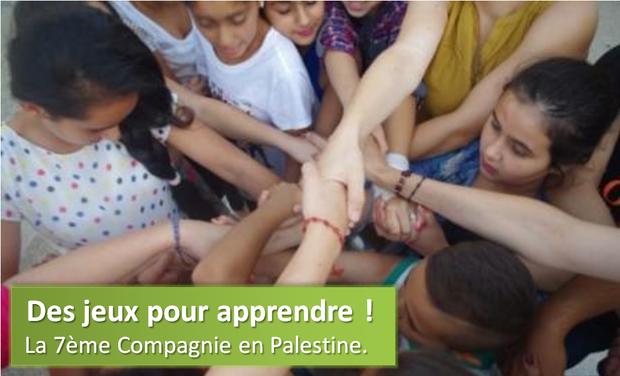 Visuel du projet Des jeux pour apprendre : animation en Palestine