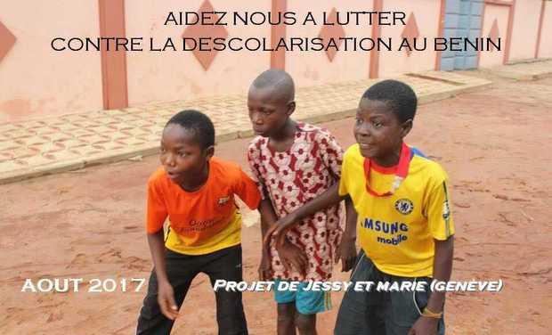 Visuel du projet Lutte contre la déscolarisation au Bénin