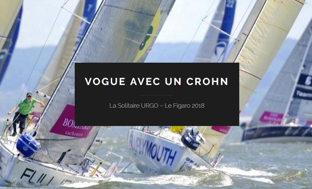 Project visual Embarquez avec moi sur le projet Vogue avec un Crohn - La Solitaire du Figaro 2018