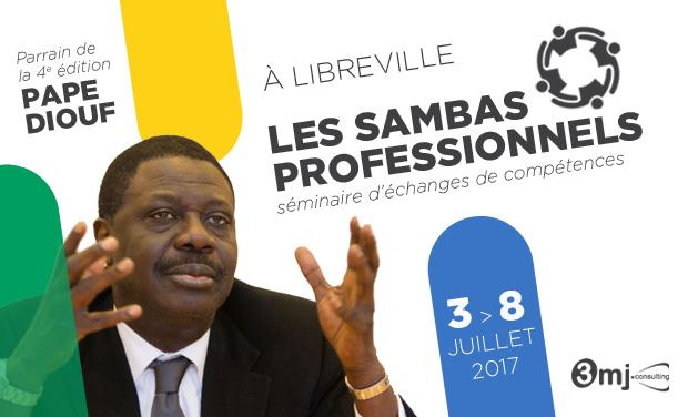 Visuel du projet Les Sambas Professionnels - Formations des jeunes africains par les modèles de réussite