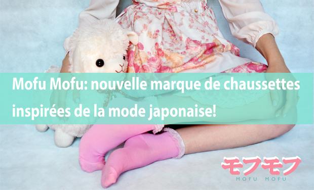 Project visual Mofu Mofu: nouvelle marque belge de chaussettes inspirées de la mode japonaise!
