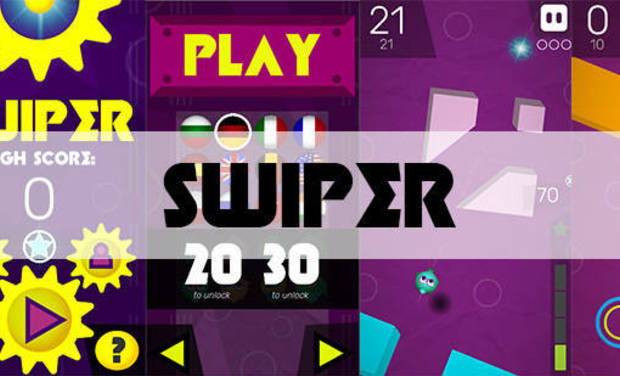 Project visual SWIPER's Quest for The Play/App Store
