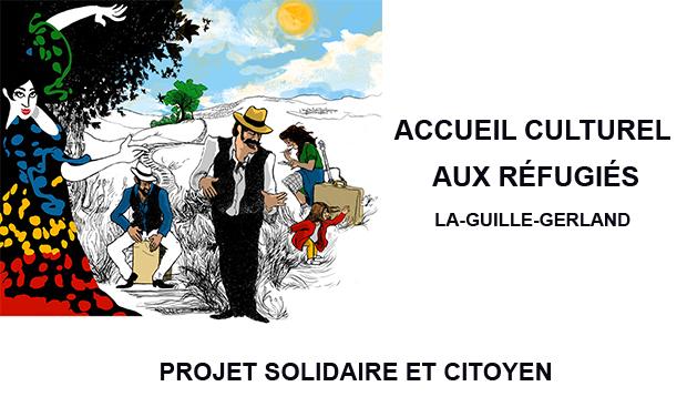Visueel van project Accueil Culturel aux Réfugiés - ateliers, spectacles et rencontres thématiques
