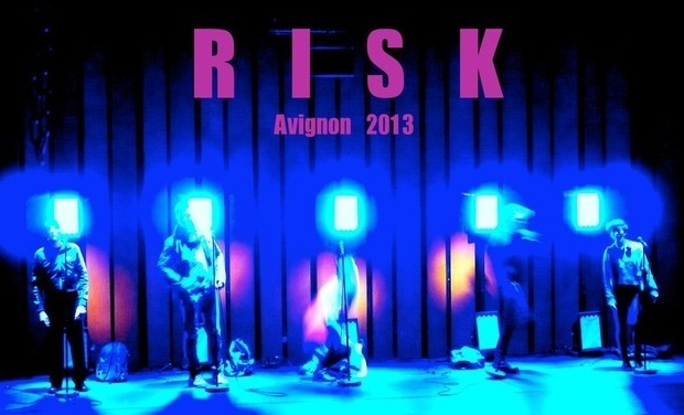 "Project visual prendre un ""RISK"" au festival d'Avignon"