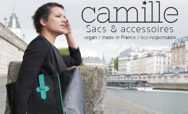 Project visual CAMILLE: des sacs vegan