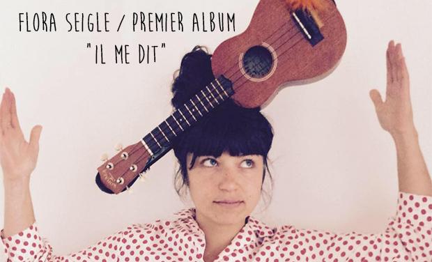 """Visuel du projet FLorA SeiGLE 1er album """"Il ME DIT"""""""