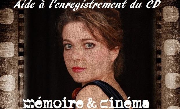 """Visuel du projet Enregistrement du CD """"Mémoire et Cinéma"""""""
