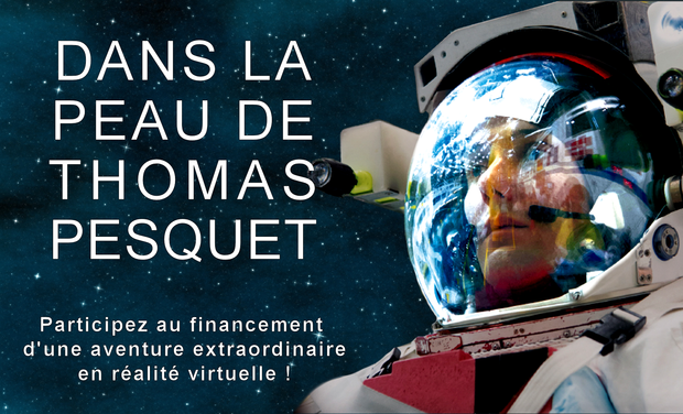 Project visual DANS LA PEAU DE THOMAS PESQUET