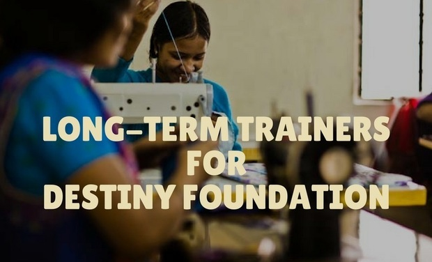 Visuel du projet Long-term trainers for Destiny Foundation